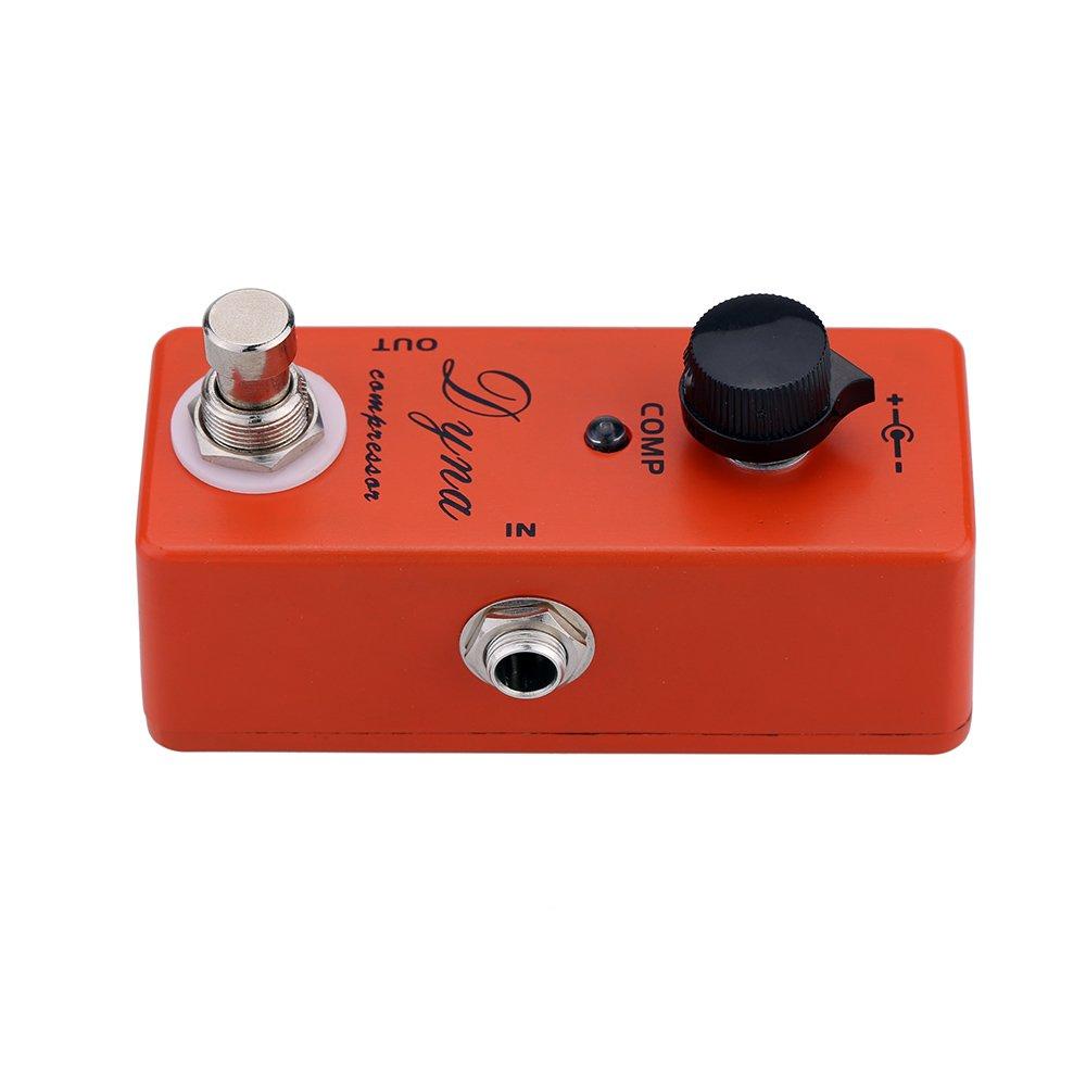 Andoer®Dyna Compresor Guitarra Eléctrica Pedales Mini Solo Efecto con True Bypass: Amazon.es: Electrónica