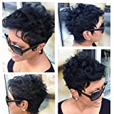 Short Hairstyles For Black Women Short Black Haircuts Synthetic Wigs For Black Women Natural Hair Wigs