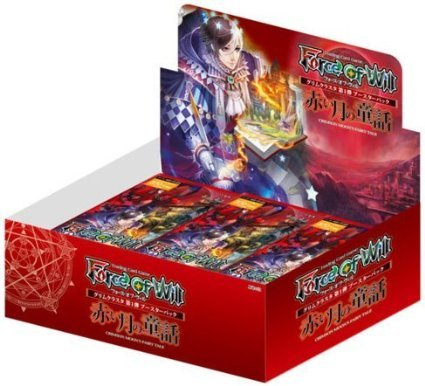 Force of Will - Grimm Cluster Set 1 - Crimson Moon's Fairy Tale Booster Box by Force
