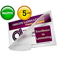 Matte Double Letter Laminating Pouches 5 Mil 11-1/2 x 17-1/2 (Pack of 50) Small Menu