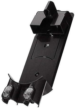 Soporte de montaje en pared estación de carga de acoplamiento accesorios de aspiradora de mano para aspiradoras Dyson DC58 DC59 DC61 DC62 V6 Tamaño libre negro: Amazon.es: Hogar