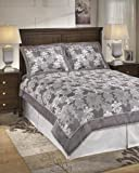 Best Signature Design by Ashley Beddings - Signature Design by Ashley Carlyle Bedding Set, Queen Review