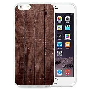 NEW Unique Custom Designed iPhone 6 Plus 5.5 Inch Phone Case With Wood Floor Texture_White Phone Case