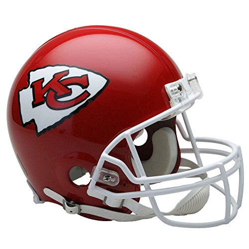 Kansas City Chiefs Officially Licensed NFL Proline VSR4 Authentic Football Helmet by Riddell