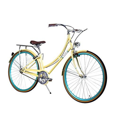 [Zycle Fix Civic Women - Summer - Women City Series Single-Speed Urban Commuter Bike (44)] (Firmstrong Bella Fashionista Single)