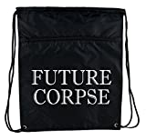 Future Corpse Death Funeral Cinch Bag Drawstring Backpack Gothic Alternative Clothing