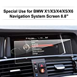 Product review for LFOTPP BMW X1 X3 X4 X5 X6M40i 8.8-Inch Car Navigation Screen Protector Glass, Clear Tempered Glass Center Touch Screen Protector Anti Scratch High Clarity