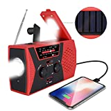 Best Emergency Weather Radios - [2019 Upgraded Version] RegeMoudal Emergency Solar Hand Crank Review