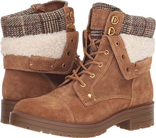 Tommy Hilfiger Dyan Women's Boot 7.5 B(M) US Saddle-Brown-Cream