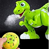 Yeezee-Wireless Dinosaur Toys, Interactive Spraying Water Dino for Kids, Walking ,Sing, Dancing, Turning Around, Electrinic Pet for Boys/Girls