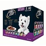 Cesar Canine Cuisine Wet Dog Food, Variety Pack (3.5 oz, 40 ct.)