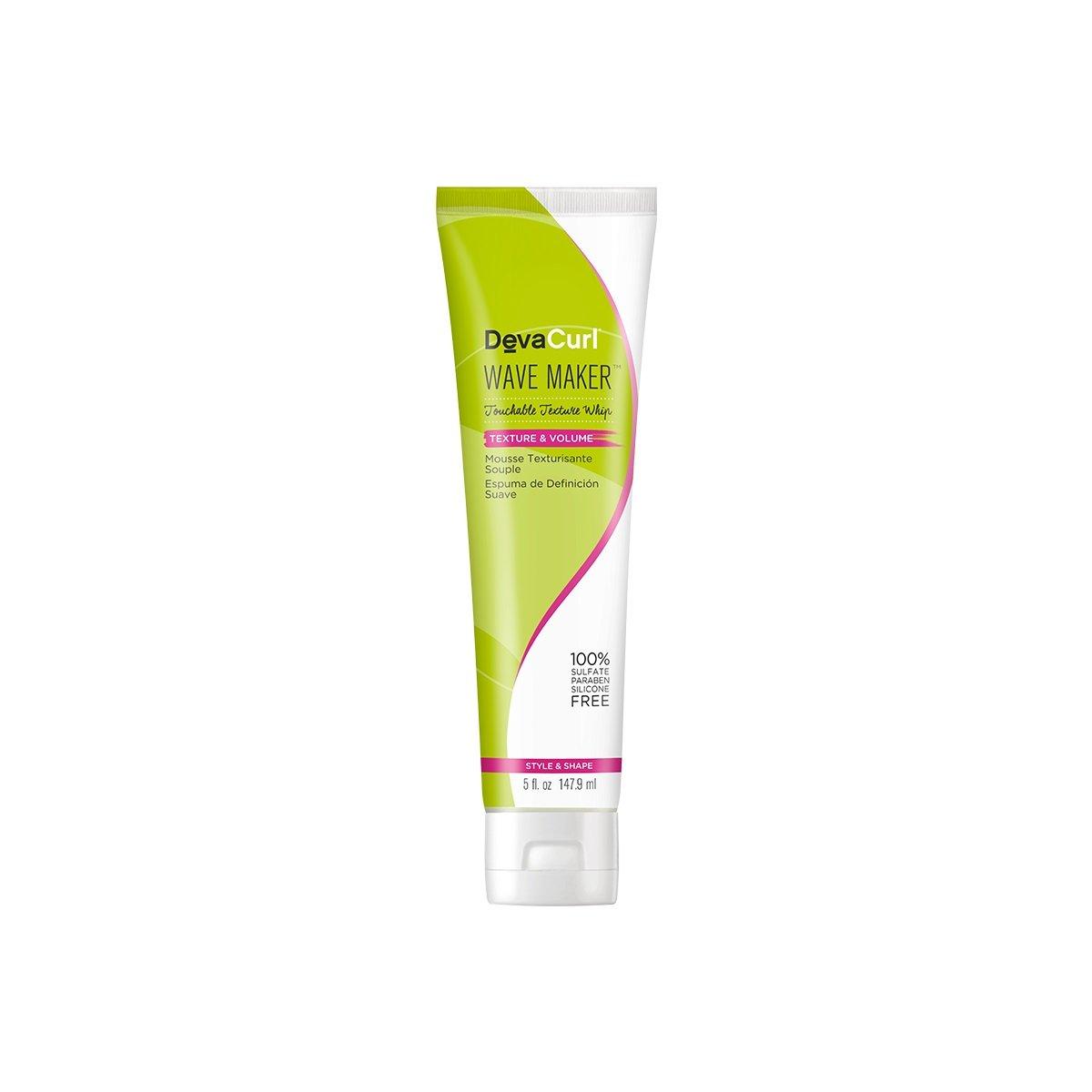 DevaCurl - Mousse Touchable della frusta di struttura del creatore dell'onda - 5 oncia. Mainspring America Inc. DBA Direct Cosmetics 020716124944