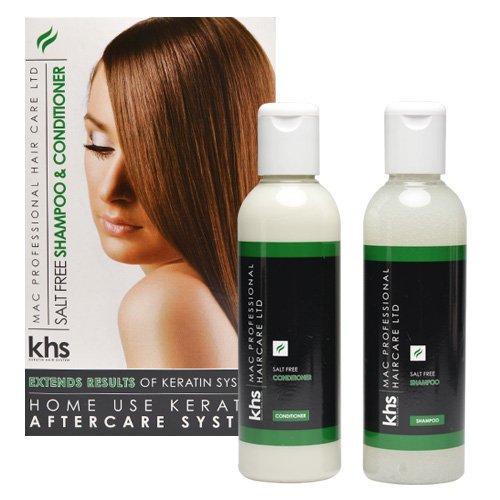Sistema de pelo de la queratina postoperatorios sin sal Shampoo y Acondicionador MSC0310