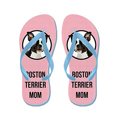 Best-selling CafePress Boston Terrier Mom - Flip Flops, Funny Thong Sandals, Beach Sandals