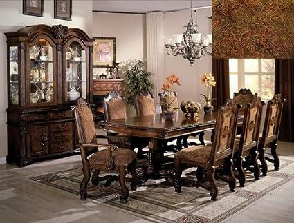 Brand New 7 Pc Neo Renaissance Dining Table (with 2x 18u0027u0027 Leaf