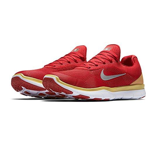 Nike San Francisco 49ers Gratis Trener V7 Nfl Samling Sko - Størrelse Menns 11 Oss