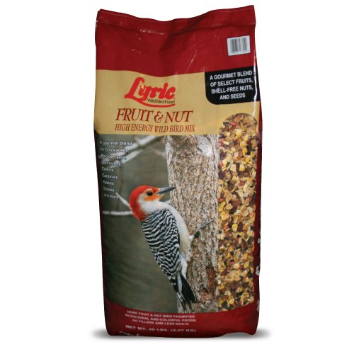 Lyric 2647417 Fruit & Nut High Energy Wild Bird Mix - 20 lb. bag
