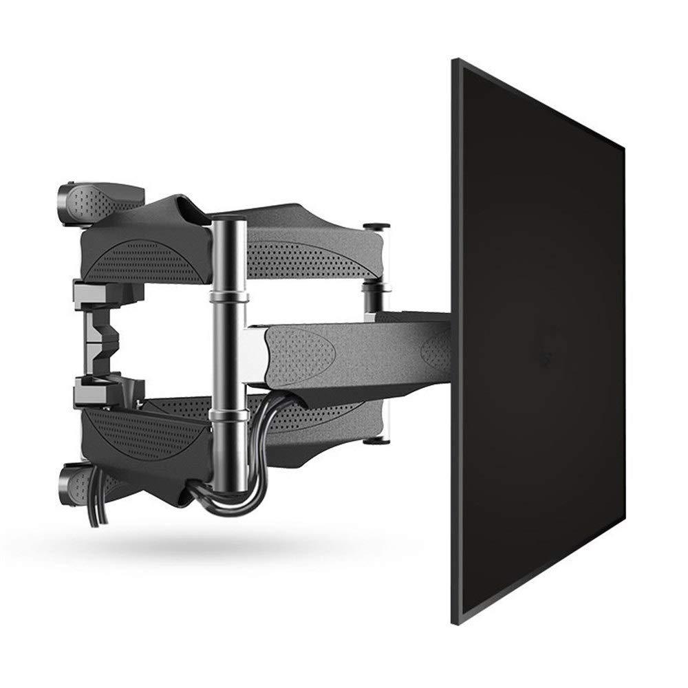 TLMYDD テレビブラケット ダブルアーム 連結式回転壁マウント LED LCD プラズマ 32-65インチ 格納式テレビ壁ブラケット LCD ブラケット TVスタンド 1014  A B07RYJWNGS