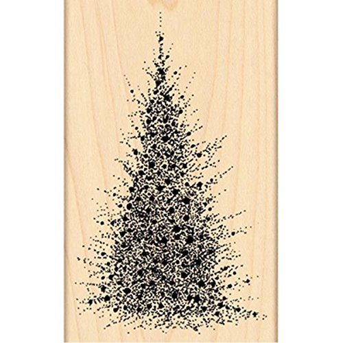 Penny Black 4272K A Splash of Winter Wood Mounted Rubber Stamp