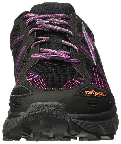 Altra Lone Peak 3,5 Womens Trail Løpesko | Stien Racing, Fastpacking, Fotturer | Null Dråpe Plattform, Footshape Tå Boksen, Trailclaw Yttersåle | Lone Peak 3.5 Er Klar Til Å Rocke Og Kjøre Lilla / Orange