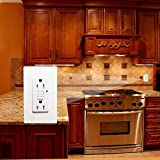 GFCI Outlet Tamper-Resistant Receptacle with LED