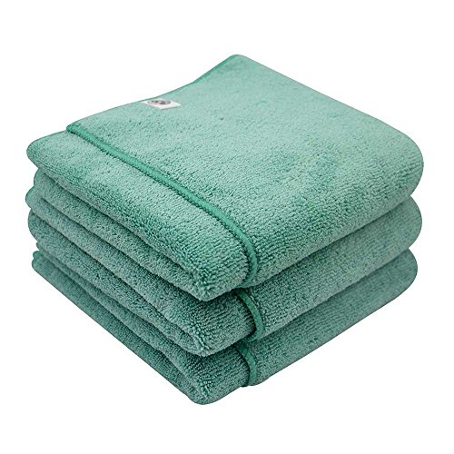 Chemical Guys MIC36403 Workhorse XL Green Professional Grade Microfiber Towel, Exterior (24 in. x 16 in.) (Pack of 3) by Chemical Guys