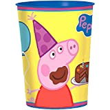 Peppa Pig Favor Cup, 16 oz, Blue/Yellow/Pink