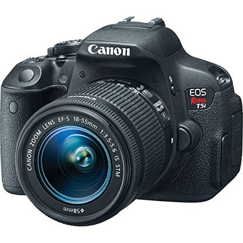- Canon EOS Rebel T5i 18.0 MP CMOS Digital SLR with 18-55mm EF-S IS STM Lens (Renewed)