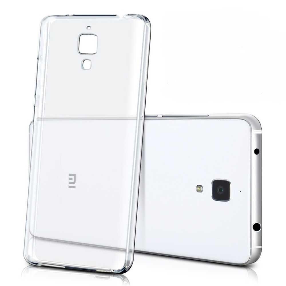 Funda de Silicona Gel TPU para Xiaomi Mi4 Mi 4 Case Carcasa ...