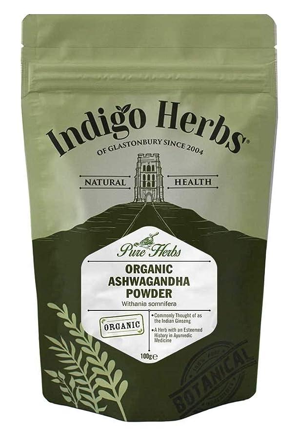 Indigo Herbs Polvo Ashwagandha Ecológico 100g: Amazon.es: Salud y cuidado personal