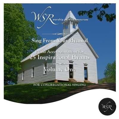 CD 25 Inspirational Hymns V1 (Piano Accomp) by Worship Service (2009-10-21) ()