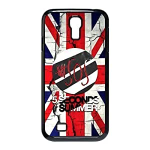 AMAF ? Accessories Custom Design Snap On 5 Seconds of Summer 5sos Back Cover Case For SamSung Galaxy S4 [ 5 sos ]