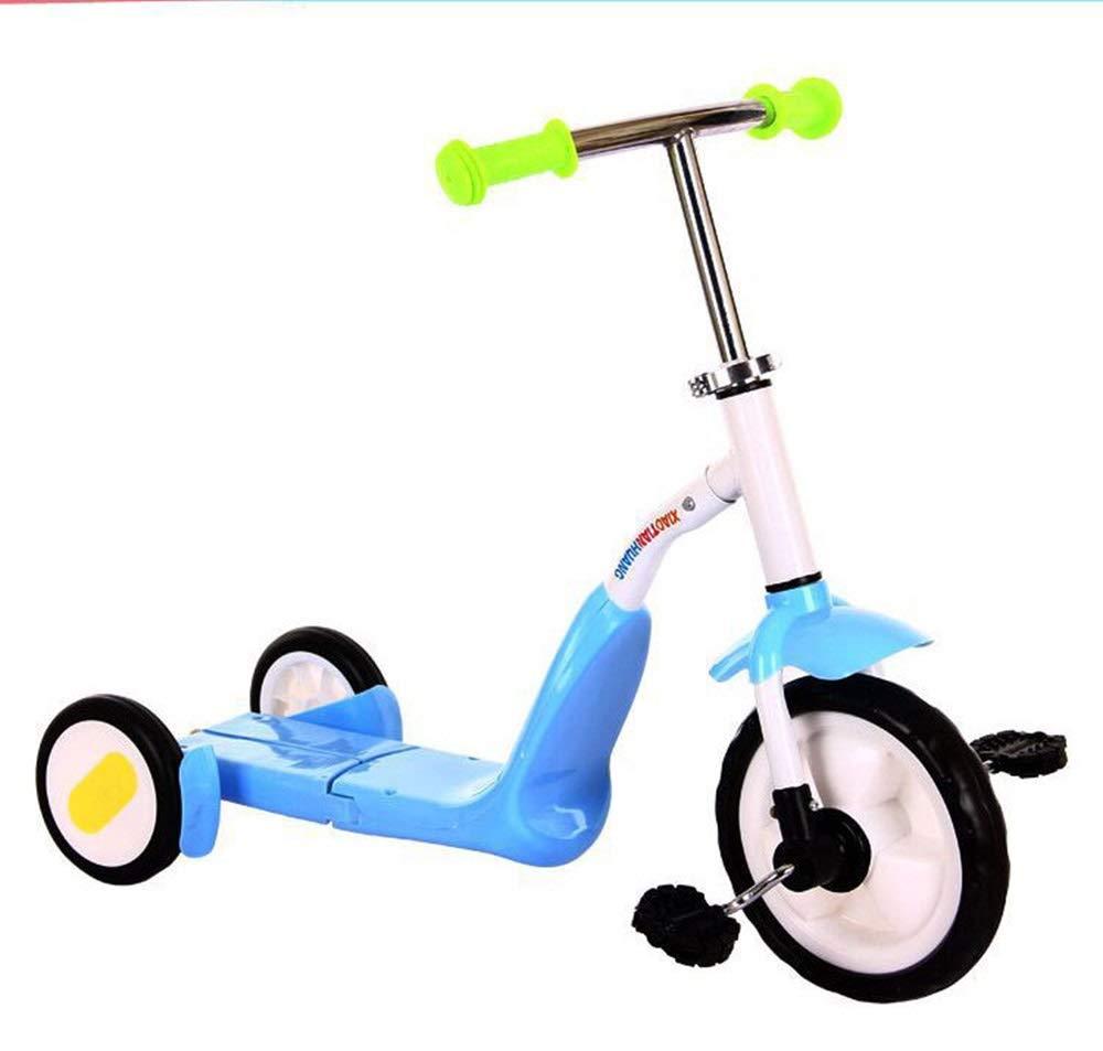 愛用  Bert100 : 赤ちゃんと子供のスクーター、多機能スクーター B07QVKLBKM、三輪スクーター、男性と女性に最適 うまく設計された Blue ( Color : Blue ) B07QVKLBKM, ケンチクボーイ:a67a6a62 --- svecha37.ru
