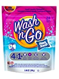 Wash n Go Liquid Detergent Singles Fresh Scent, 24 Count x 6 (144 Count Total)