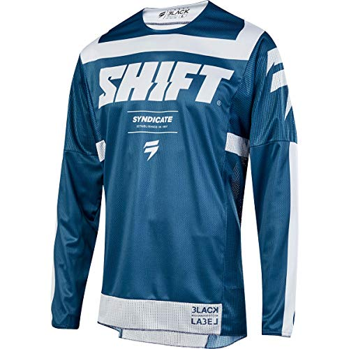 (Shift 2019 Black Label Strike Jersey-Blue-2XL)
