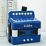 Kiddire Kids Accordion, 10 Keys Button Toy