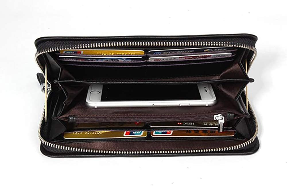 Mens clutch,leather clutch,leather wallet
