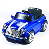 National Products 6V Battery Operated Mini Cooper Ride-on Blue