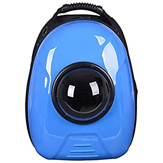 Geralds comfortableful Carrier Dog Cat Space Capsule Shaped Pet Travel Carrying Breathable Shoulder Backpack Outside Travel Portable Bag Pet Products