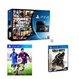 Sony Playstation 4 PS4 Console Grand Theft Auto 5, FIFA 15, Call of duty Advance Warfare Bundle by PlayStation 4