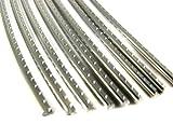 Guitar Fret Wire - Jescar WIDE-MEDIUM (47104) Stainless Steel - Six Feet