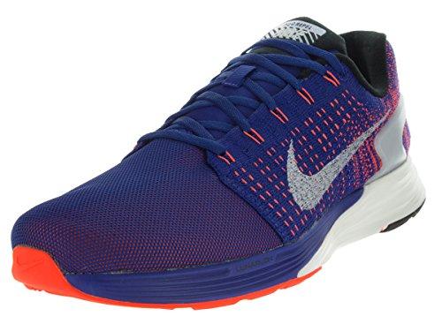 Uomo Scarpe Rflct Bl Slvr Lunarglide Blue Red da Nike Dp Ryl Crmsn Silver Ginnastica ttl 7 SHB7q7wX