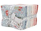 Victoria Fat Quarter Bundle 34 Precut Cotton Fabric Assortment by 3 Sisters for Moda Fabrics, 44160LC