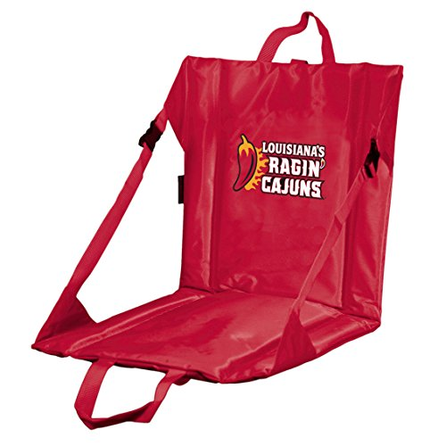 Logo Brands NCAA LA Lafayette Rajin Cajun Stadium Seat