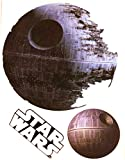 """FATHEAD Death Star Mini Officially Licensed Vinyl Wall Graphic Re-Usable Decal 7"""" INCH"""