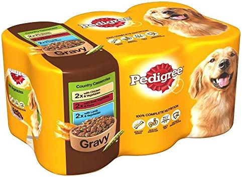 Pedigree Country Casseroles in Gravy (6x400g) – Dogs Corner
