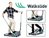Walkslide Manual Treadmill,Elliptical & Nordic Skier in one! Compact, Portable, Quiet, Low impact, Lose Weight! Review