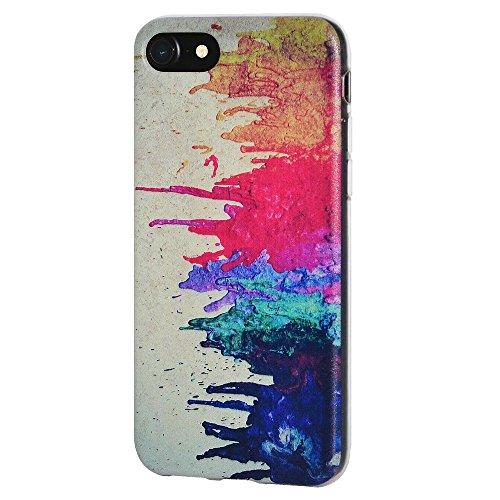 """Amzer Coque en gel souple transparent """"Abstract Art Moderne en TPU pour Apple iPhone 6Plus/6S Plus"""