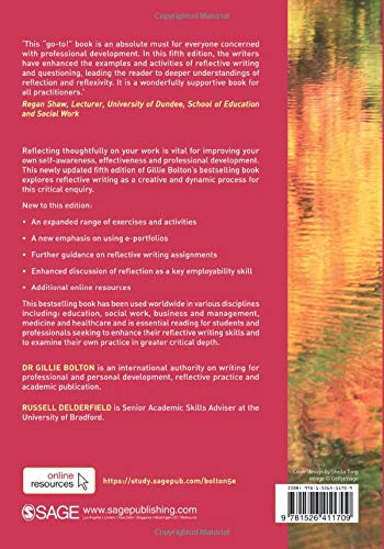 reflective practice: writing and professional development 5th edition