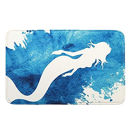 51Aup8Y0GkL._SS450_ 50+ Mermaid Themed Area Rugs